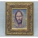 MOD 030019 CUADRO ROSTRO DE CRISTO ORO 18X20CM