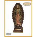 Virgen de Guadalupe 40cm base Grande
