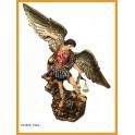 Arcangel San Miguel peto rojo 73 cms