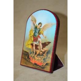 Mini bolo base de cartón Arcángel Miguel 6x9cm